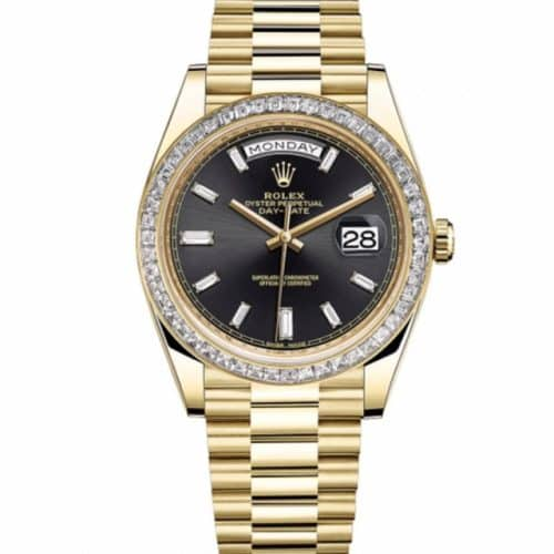 Rolex Day-Date 40 18ct Yellow Gold and Diamonds b76d9c83123