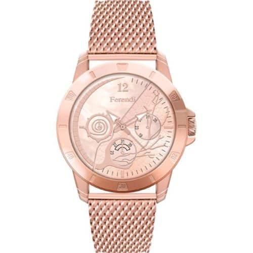 9af3a94cb3b5 Ferendi Aelia Rose Gold Stainless Steel Bracelet