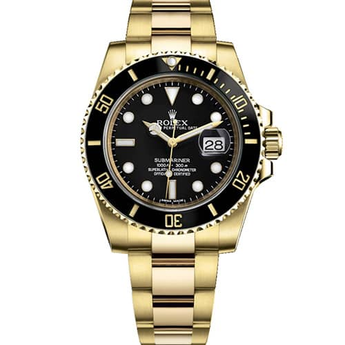 ae8173dba4 Rolex Submariner Date and Yellow Gold