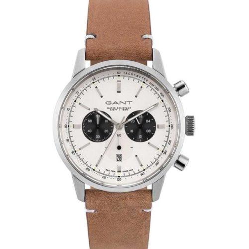 c43024bd54ef GANT Bradford Chronograph Brown Leather Strap