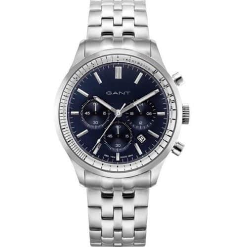 9025e90528f7 GANT Bronwood Chronograph Silver Stainless Steel Bracelet