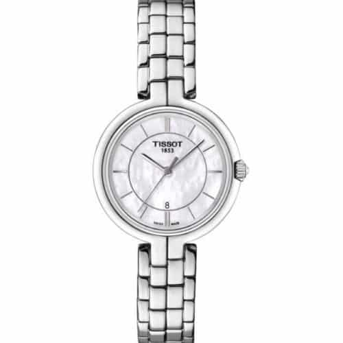 85a1a8a2cd20 TISSOT T-Lady Flamingo Ladies Stainless Steel Bracelet