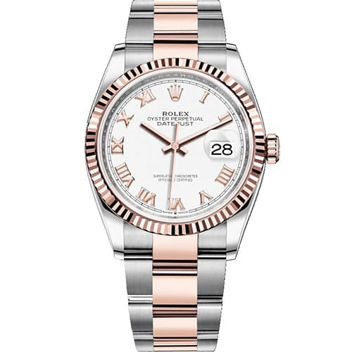 Rolex Datejust 36 Oystersteel and Everose Gold d5c4ce6fe0a