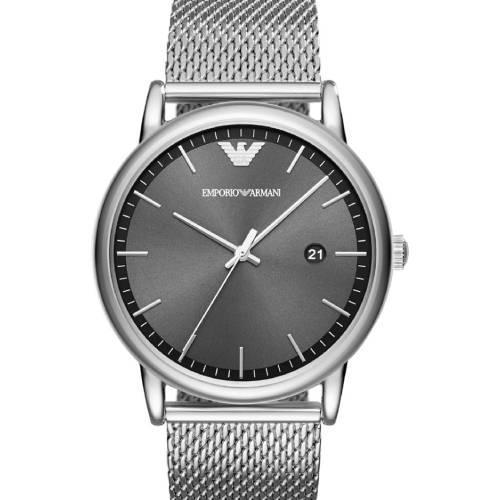 2beb5b15a7 Κούρτης Ρολόι-Κόσμημα - Emporio Armani Luigi Mesh Stainless Steel ...
