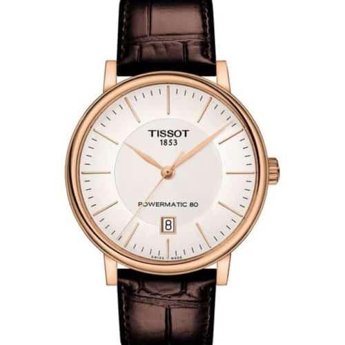 TISSOT T-Classic Carson Premium Automatic Brown Leather Strap 881cf9b9f06